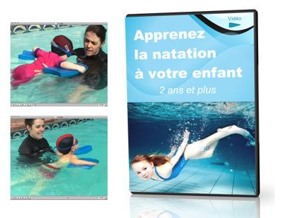 Apprenez la natation à votre enfant (2 ans à 6 ans)