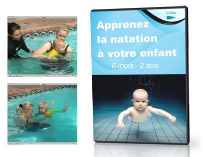 Apprenez la natation à votre enfant (de 6 mois à 2 ans